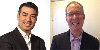 HP Canada channel chiefs Gary Drysdale (left for PPS) and Chris Champagne (right for EG)