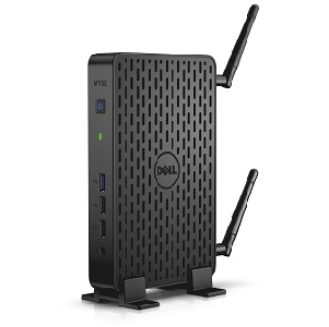Dell Wyse Thin Client Desktop 3000 Series (Model 3290), codename Egeus, in vertical position.