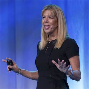 Renée Bergeron, Ingram Micro's senior vice president of global cloud channels