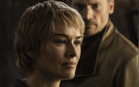 Cersei Lannister played by Lena Headey