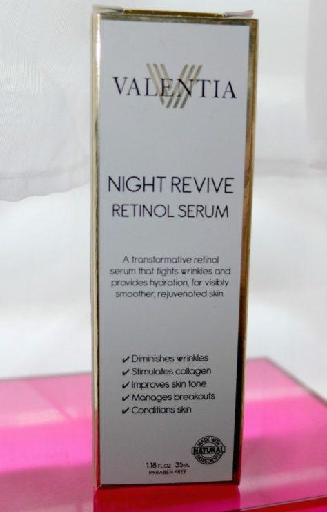 Valentia Night Revivre Retinol Serum