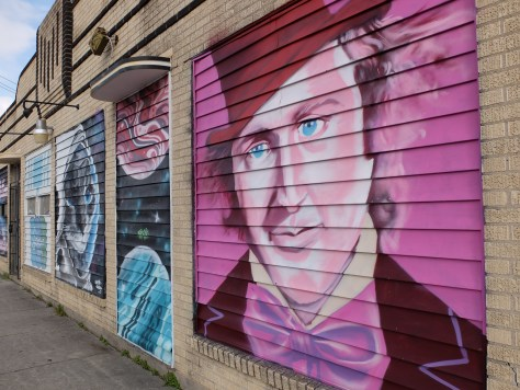 Houston Murals, Gene Wilder