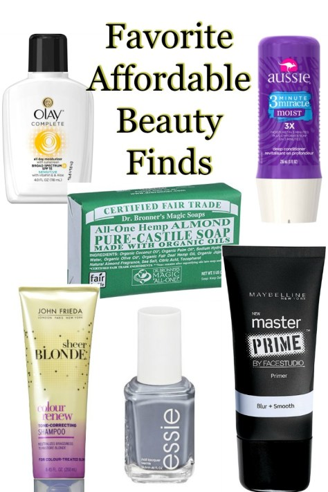 Favorite Affordable Beauty Finds