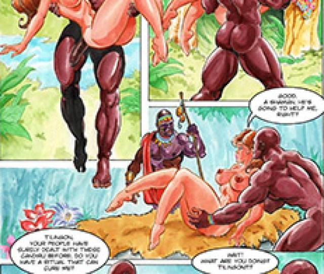 Stormbringer Interracial Comics