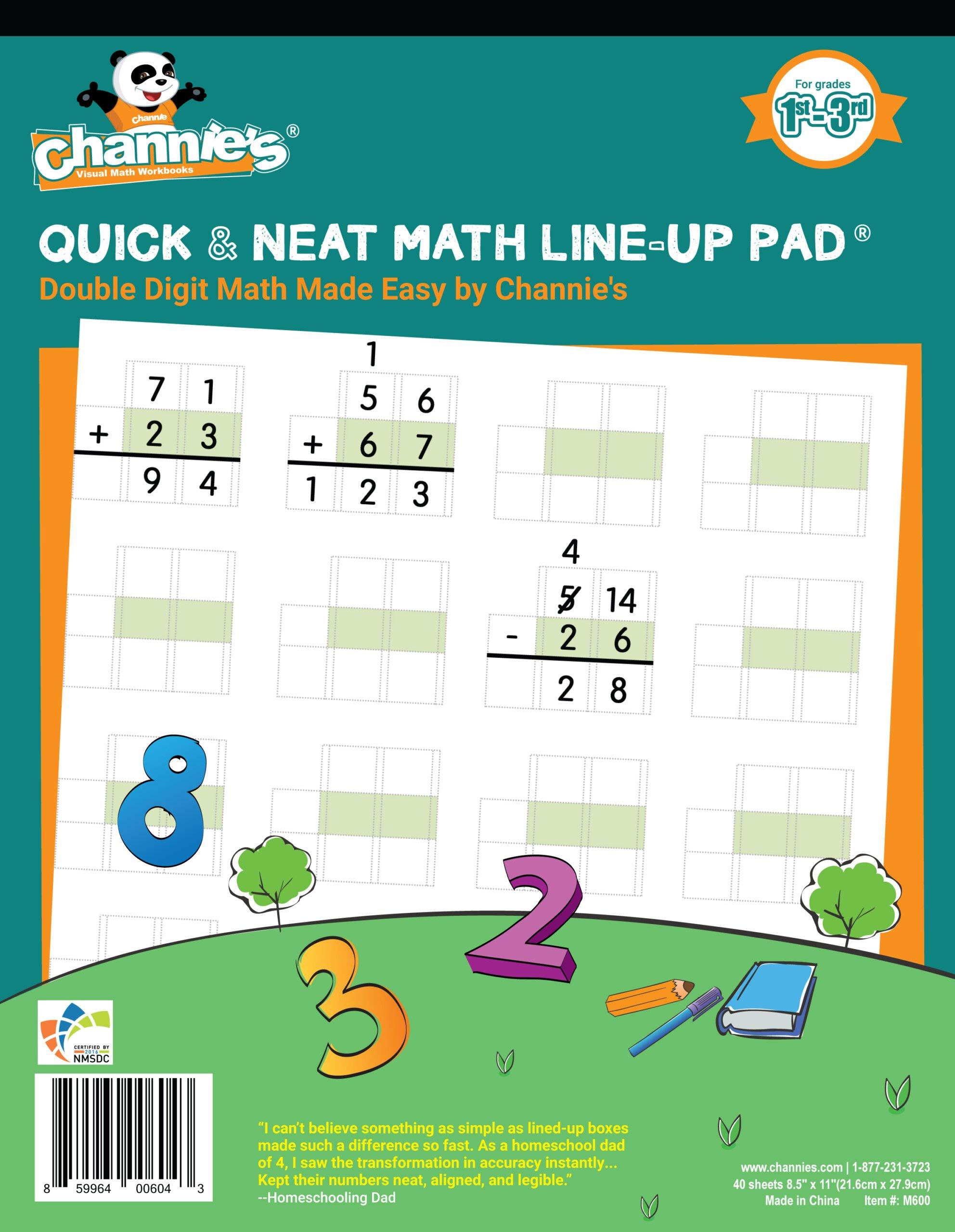 Math Workbook 1st Grade