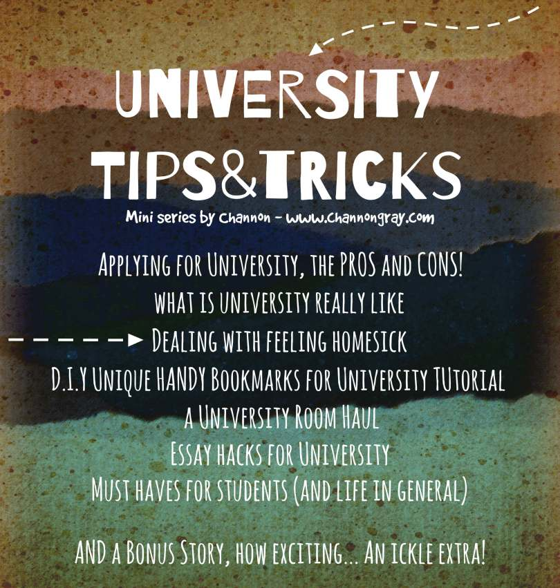 University tips and tricks: How do I deal with feeling homesick?