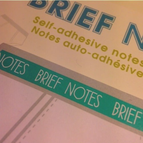 Brief Notes from Paperchase