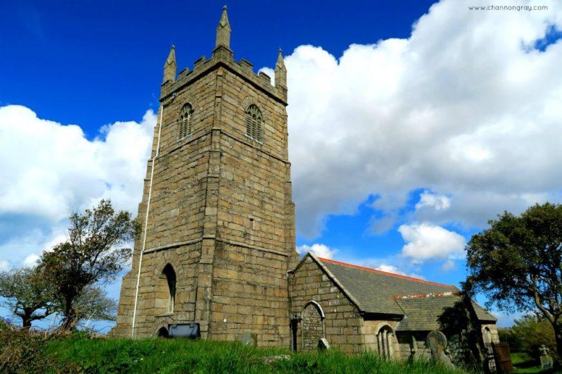 St Uny Church in Lelant, Cornwall