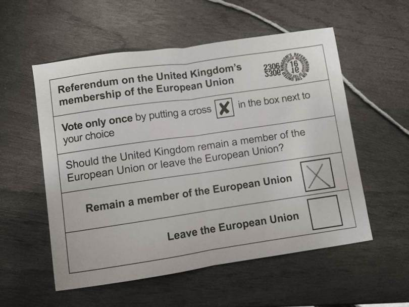 EU Referendum Vote