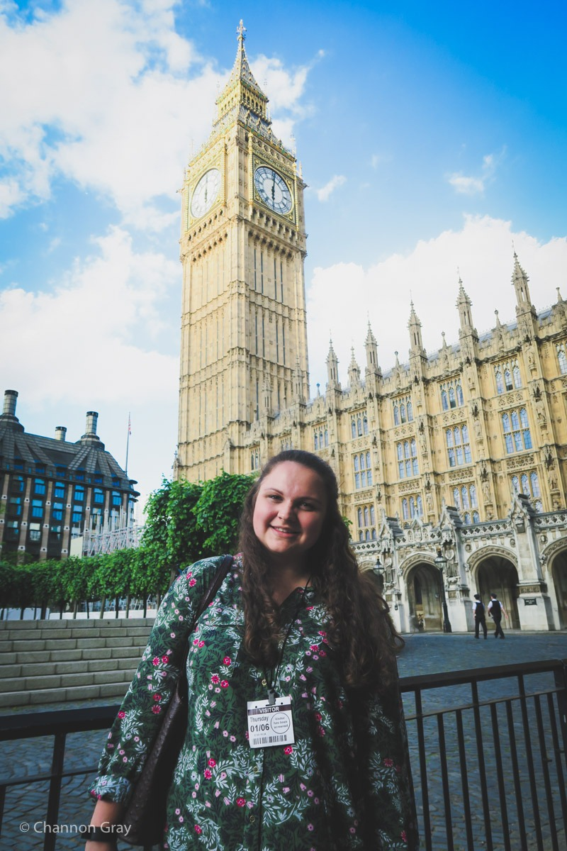 Big Ben and Armed Police // heythereChannon