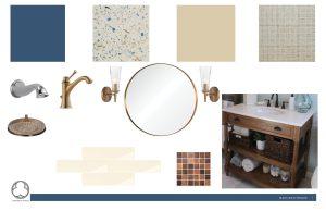 Earthy Bathroom, Bathroom Remodel, remodel, dmv interior designer, bowie maryland, washington dc, concept