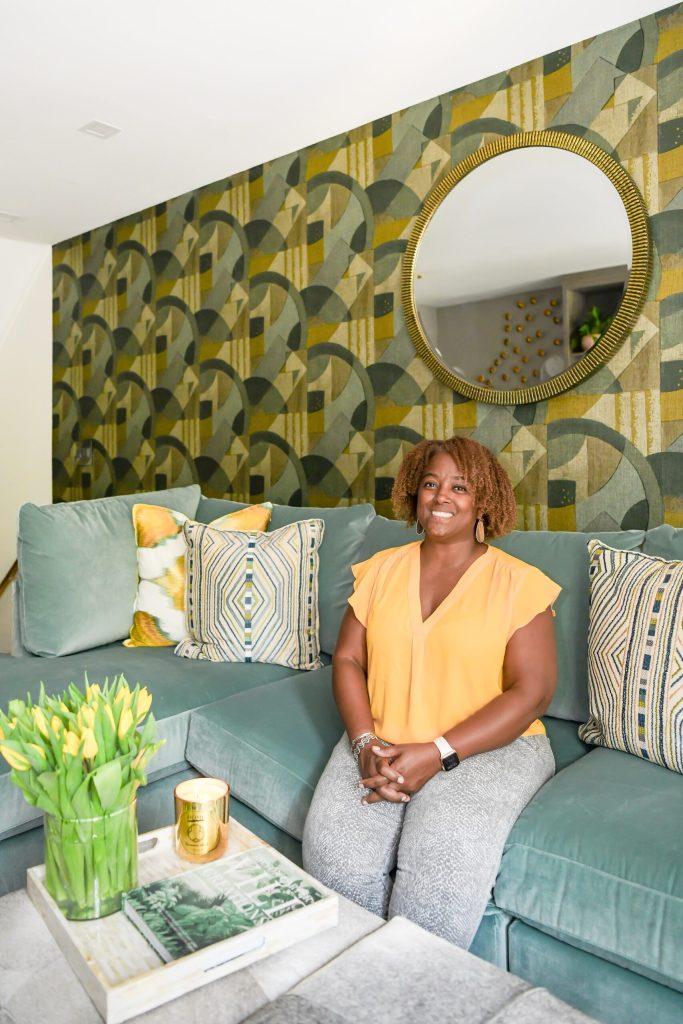 Sarah Wilson of Chansaerae Designs Southwest DC Waterfront Condo