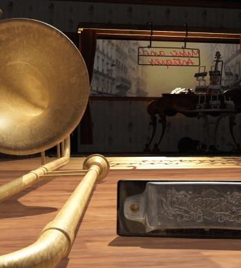 Trombone-Harmonica