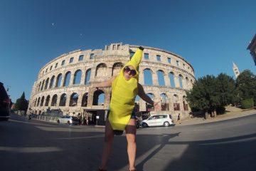 Banana at Pula Arena