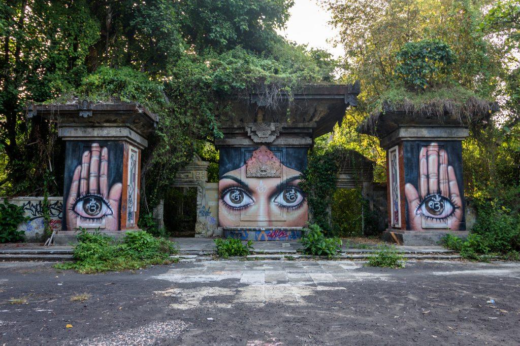 Bribing Our Way Into Abandoned Taman Festival Bali - Chantae Was Here