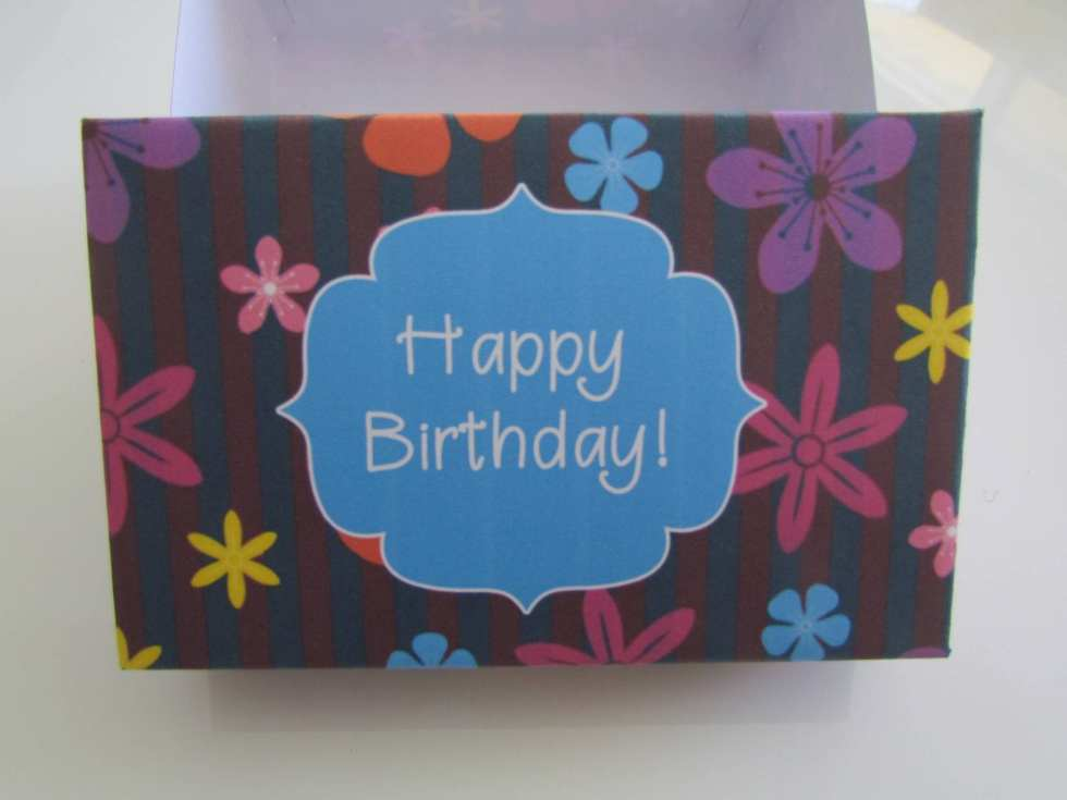 happy birthday gift box picture