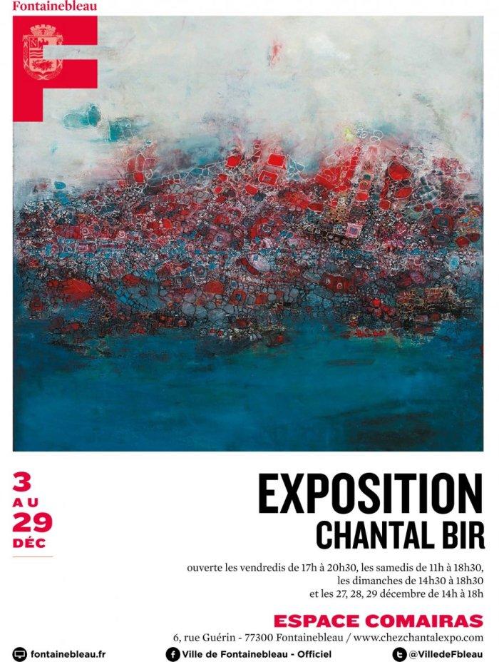 Exposition Chantal Bir Fontainebleau