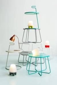 leitmotiv-bijzettafel-serve-table-groen-o42x65cm
