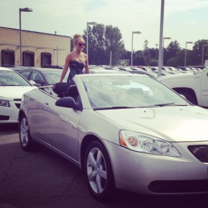 Forbes Motors, Cadillac dealership, Justin Bieber batmobile, convertible, Verano, pontiac g6 convertible, car lot, sleek