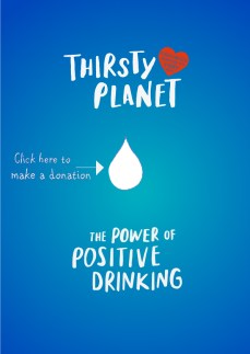 thirsty planet water poster