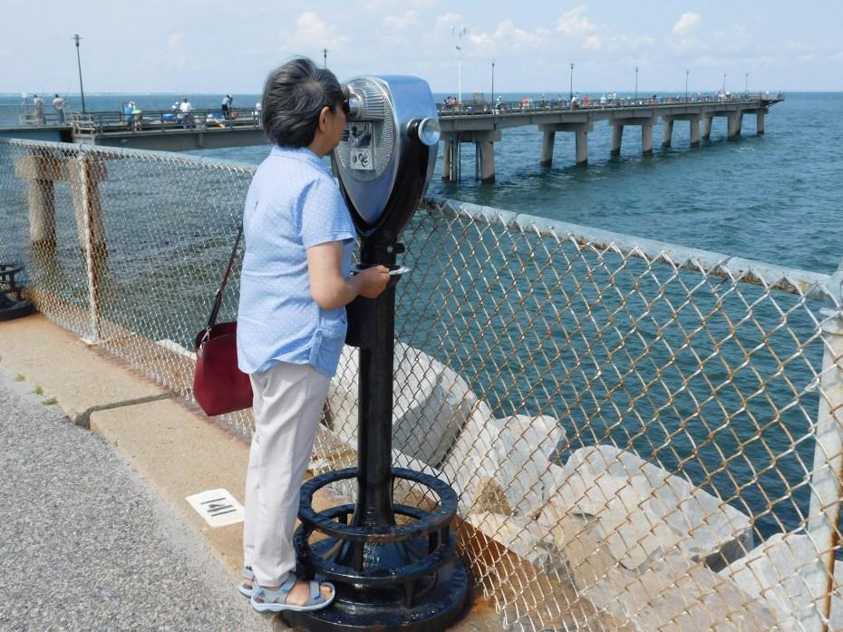 跨海大桥 眺望