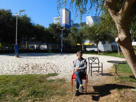 山景城谷歌沙滩排球场