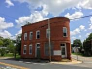 Stockton镇关闭的办公楼
