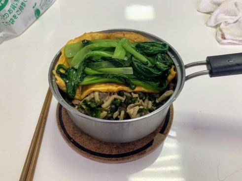 豐盛的飯菜