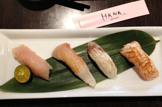【食記】平價美味的HANA壽司 @ 永和(四號公園)