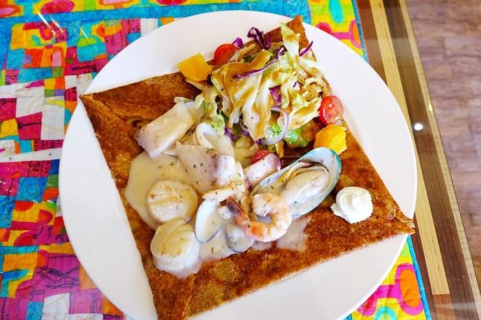 【食記】Amin's Creperie 巴黎薄餅.充滿異國情調的料理滋味 @天母