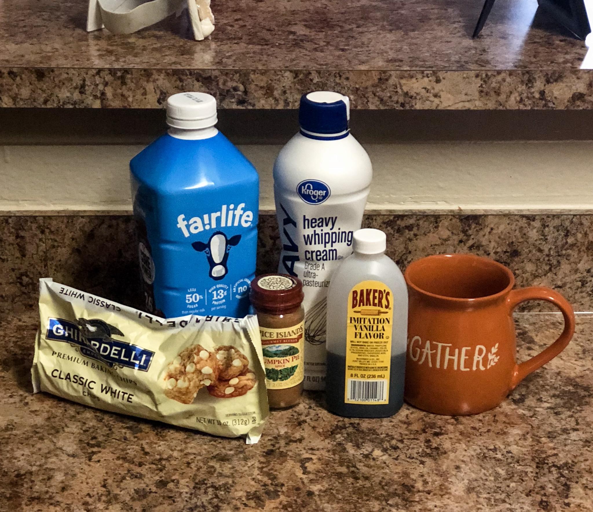 How to Make Pumpkin Spice White Hot Chocolate