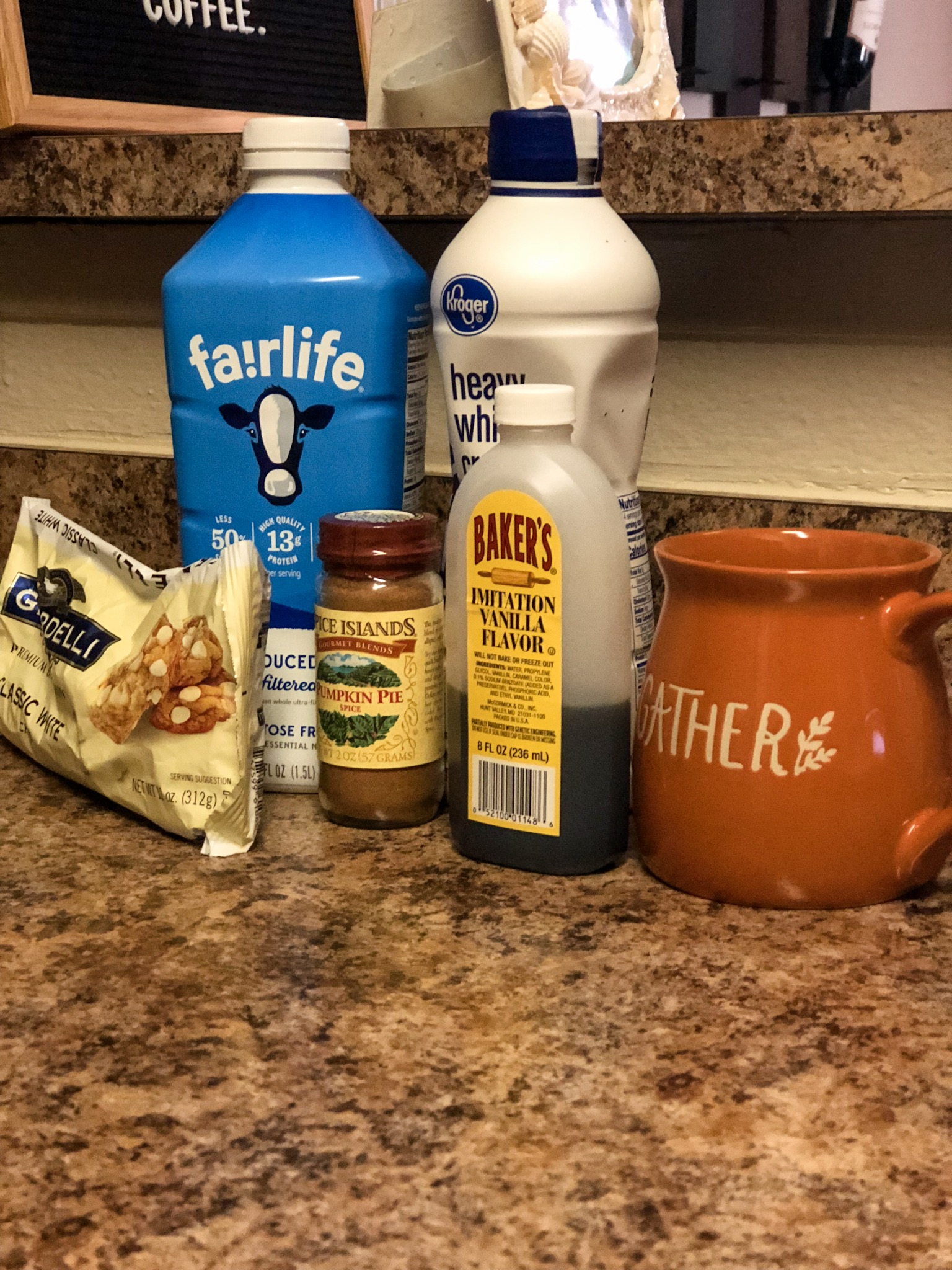 How to Make Pumpkin Spice White Hot Chocolate