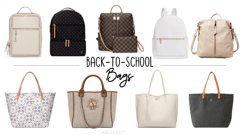 9 Affordable Back to School Bags | Chaos and Coffee