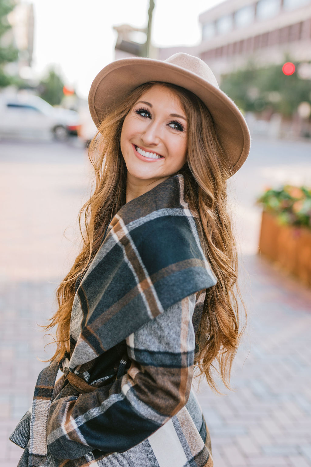 The Perfect Plaid Fall Coat | Chaos and Coffee