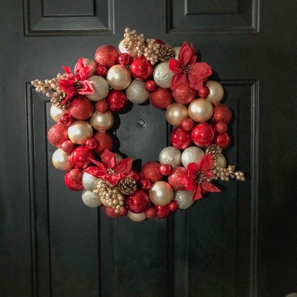 DIY $14 Christmas Wreath
