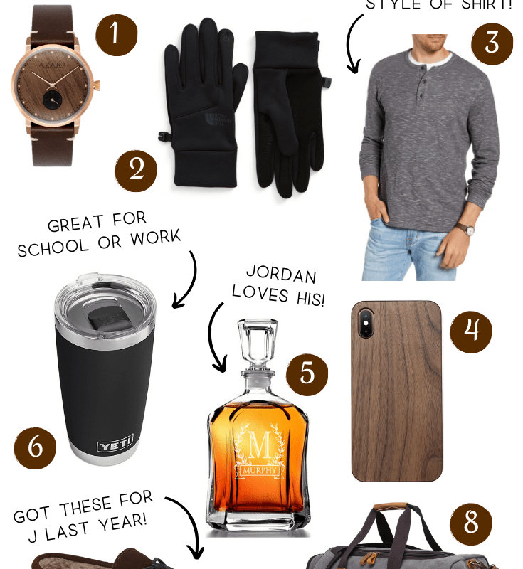 Gift Guide for the Fellas | Chaos and Coffee