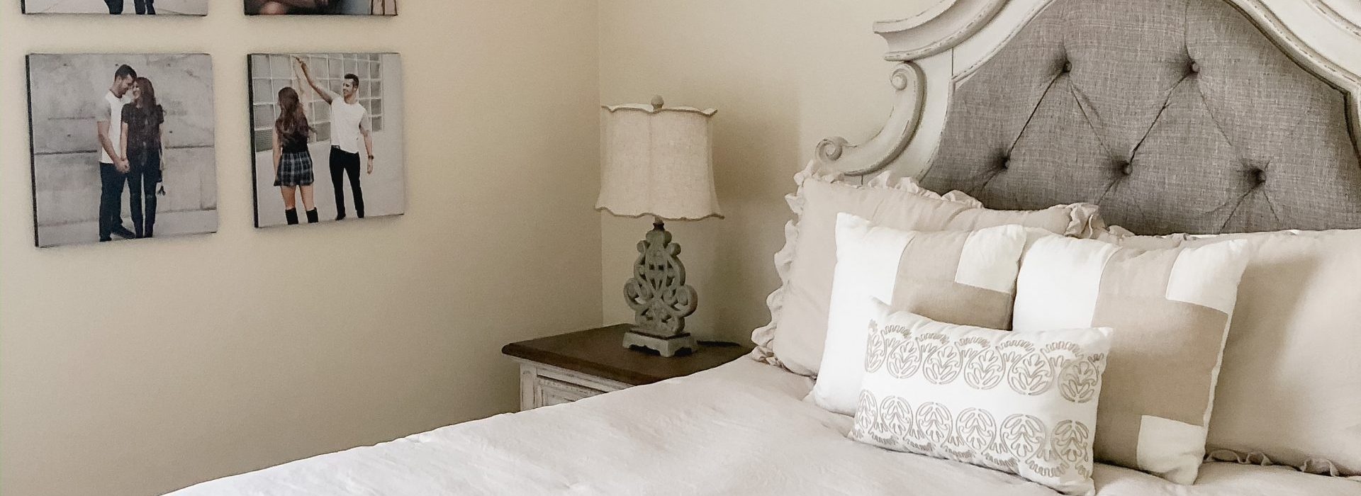 Home Reveal: Master Bedroom and Bath