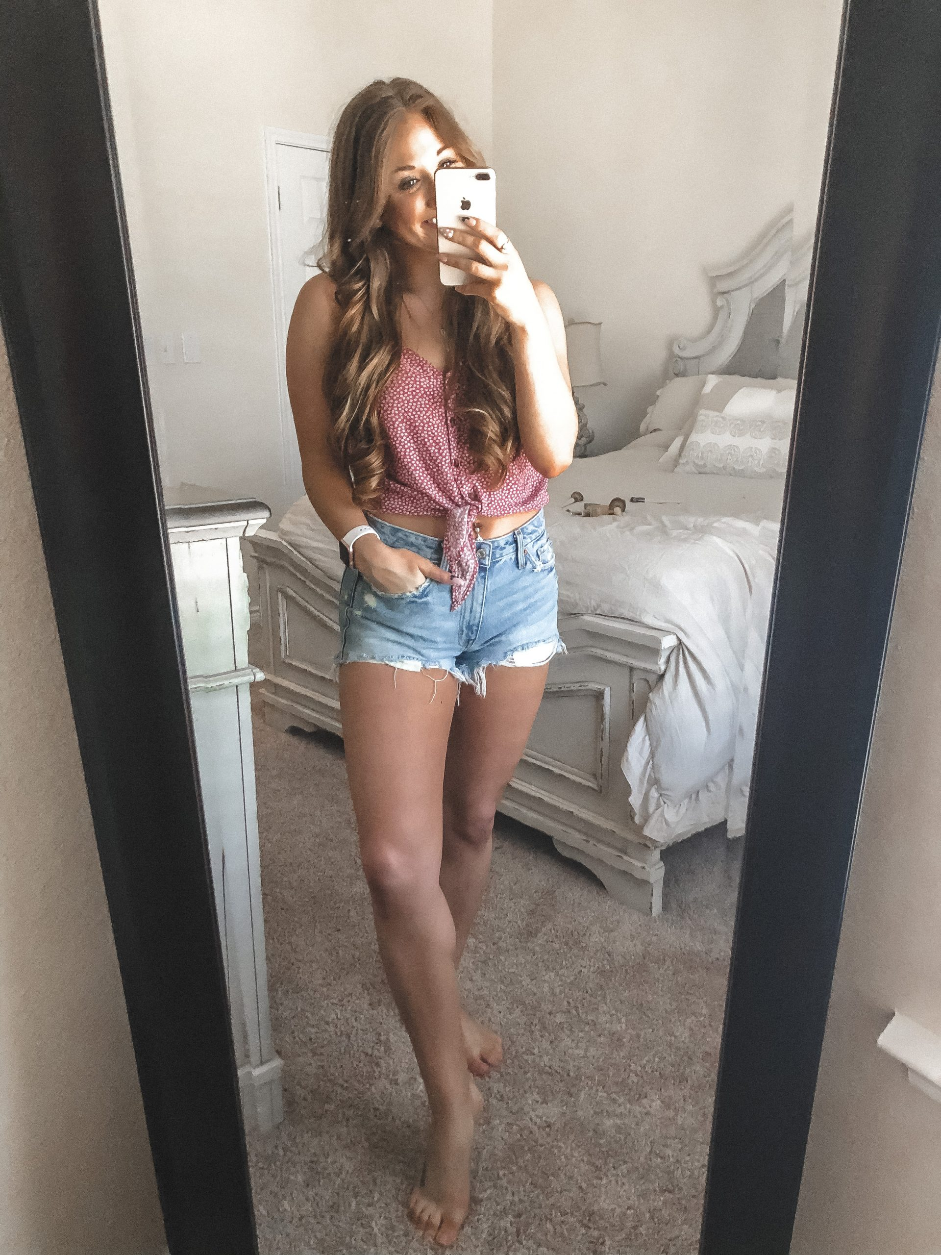 Top 3 Favorite Denim Shorts for Summer | Chaos and Coffee