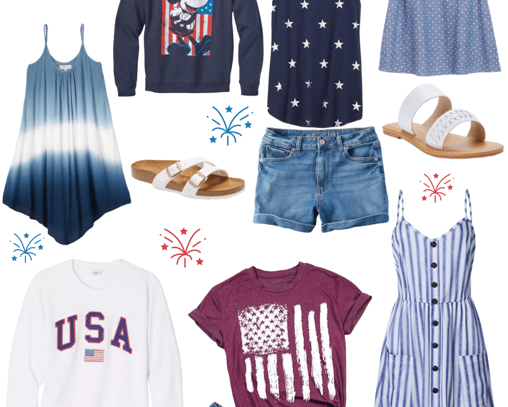 4th of July: What to Wear | Chaos and Coffee