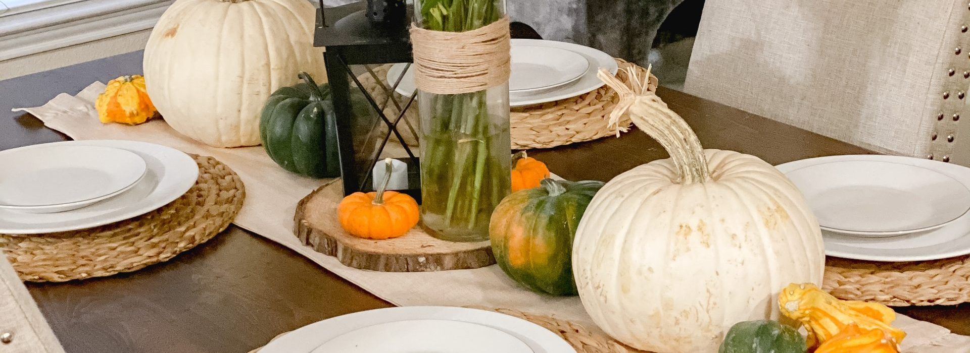 Easy and Affordable Fall Table Decor