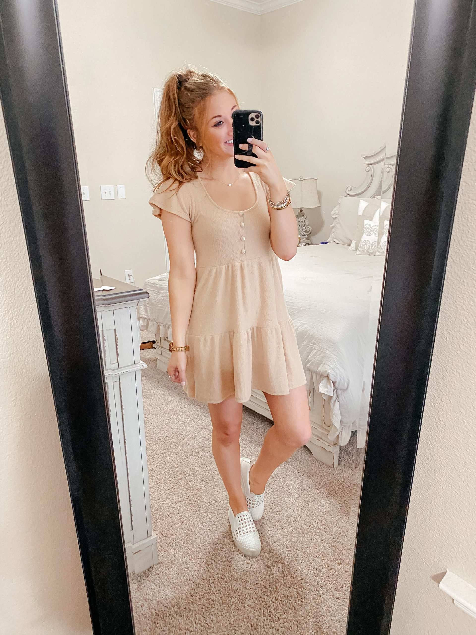 Casual Babydoll Dress from Nordstrom for Valentine's Day