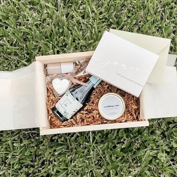 How I Made My Bridesmaid Proposal Boxes