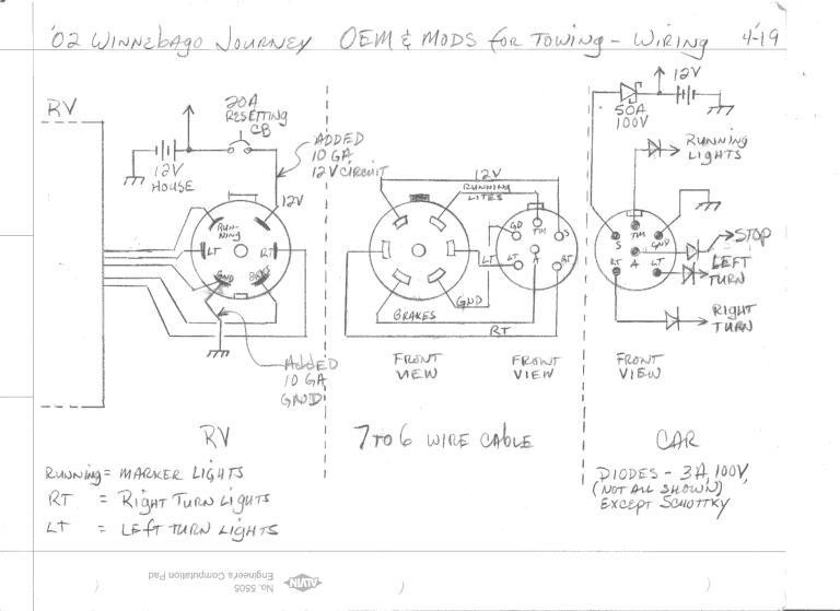 Winnebago Chassi Wiring Diagram Ignition Wiring Schematic