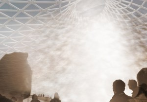 Rendering of Cool Oculus installation