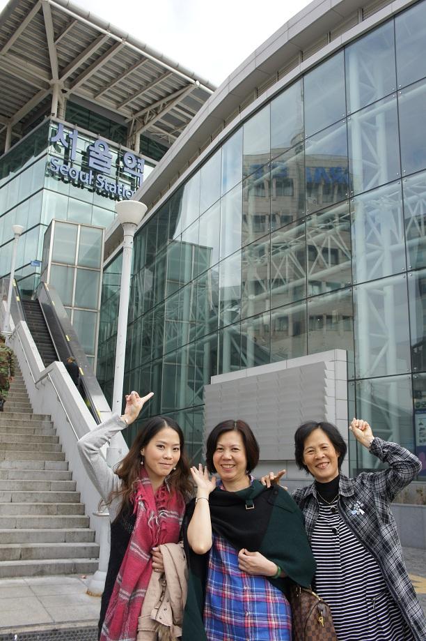 2011 11/3~11/7首爾姐妹會day 5 逛首爾車站/打包回臺灣 | [作波蘿油最重要是開心嘛]