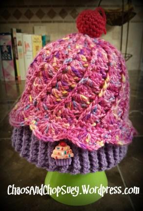 Pink Cupcake Hat2