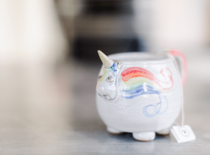 unicorn cup anne english take your medicine