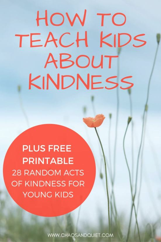 Choose Kindness: How to Teach Children the Importance of