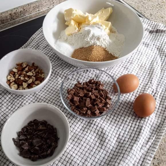 Nuss-Nougat-Cookie