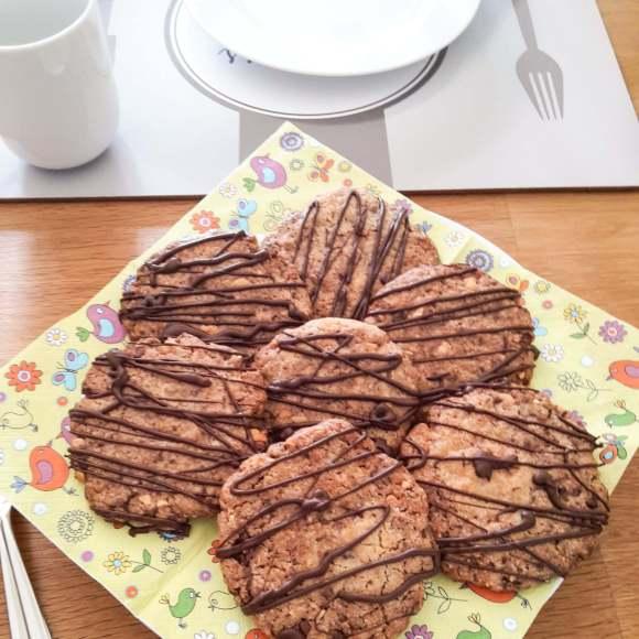 Erdnuss-Schoko-Cookie